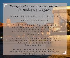 Europäischer Freiwilligendienst in Budapest